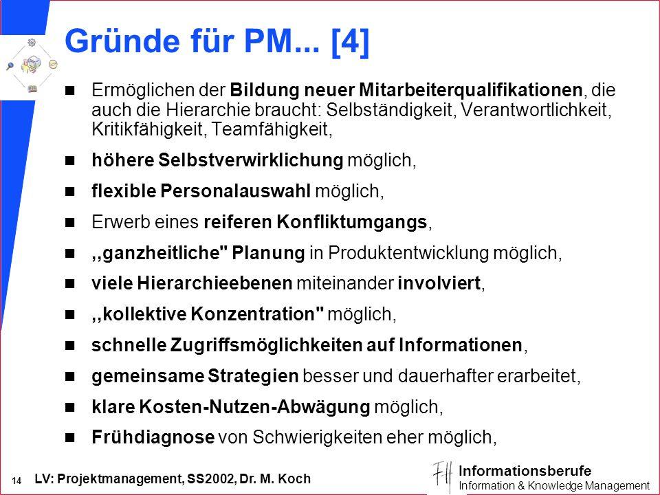 Gründe für PM... [4]